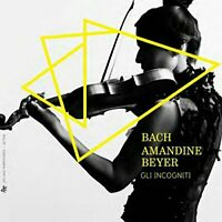 Amandine Beyer - Bach: Music for violin by J.S. Bach and C.P.E. Bach [CD]
