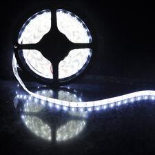 5m SMD 5050 LED Flexible Bande Lumière Imperméable Blanc 300 DC12V 6500K Strip