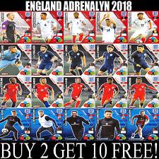 PANINI ADRENALYN XL ENGLAND 2018 ☆ Team Mates ☆ Football Cards #1 to #98
