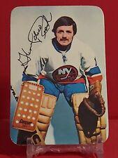 New listing 🔥 1976-77 Topps Glossy Insert NHL Ice Hockey Card #6 GLENN RESCH ISLANDERS🔥