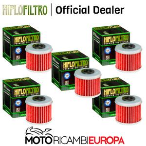 SERIE FILTRI OLIO HONDA CRF450 2003/2019 HIFLO X5 -HF116X5
