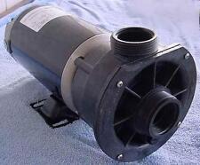 """Waterway 3420621-15   2 hp 2 Speed 1.5"""" Spa Pump Center Dschrg 230V NEW"""