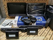 New in Box Nextbase Click 'n' Go Portable DVD Player Duo (with extra headphones)