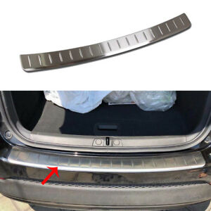 Fit 2016-20 Fiat 500X Stainless Steel Rear Bumper Outside Protective Plate Cover