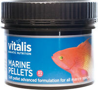 New Era Vitalis Marine Pellets XS 60g Fish Food 1mm Pellets Aquarium Reef Tank
