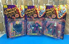 Vtg Lot of 3 1995 Toy Biz Marvel Ghost Rider Action Figures NEW