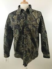 Master Sportsman Mens Camouflage Heavy Hunting Button Front w/Pockets Size XL