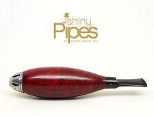 1950's CIGAR PIPE Sparkless Briar Torpedo ZEPPELIN Estate Pipe - h32