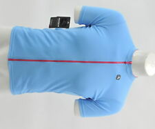 Giordana  XL Women's Fusion Short Sleeve Jersey Sky Blue/Pink New Old Stock