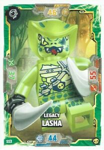 Lego ninjago Serie 6 La Isola TCG Mappa No. 113 Legacy Lasha