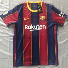 Lionel Messi #10 Season 20-21 Barcelona Home Football Soccer Shirt Men's Jersey