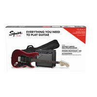 Fender Squier Affinity Series™ Stratocaster® HSS Guitar Pack, Candy Apple Red