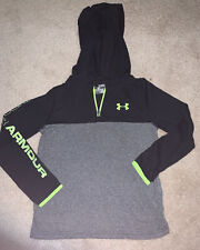youth boys under armour long sleeve shirt size small