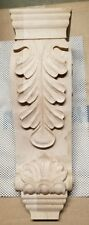 Large Decorative Carving Wood Mantel Corbel oak Leave stain traditional brackets