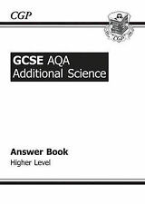 GCSE Additional Science AQA Answers (for Workbook) - Higher, CGP Books