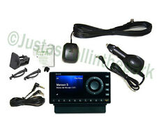 Sirius XM Onyx Radio Receiver + Complete Car Kit Antenna Adapter Cradle NEW!
