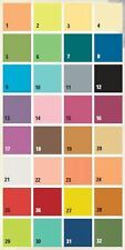 (3,29 €/m²)HobbyFun Strohseide / Faserseide 32 versch, Farben, 25gr/m², 50x70 cm