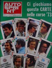 Autosprint 47 1972 Il Brasile scopre gli anti Emerson. Ferrari a 4 freni- 124 R