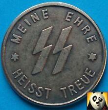 Adolf Hitler 1 Schilling Meine ehre heisst ss kampft Petridis Reich Moneda de la segunda guerra mundial