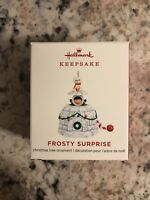 Hallmark 2019 Frosty Surprise Mini Ornament ~ NIB