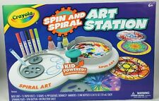 Crayola Spin and Spiral Art Station - New In Box