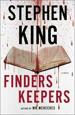 Thorndike Press Large Print Core: Finders Keepers by Stephen King (2015, Hardcover)