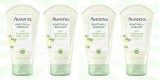 4 Aveeno Positively Radiant Skin Brightening Daily Scrub 5 OZ