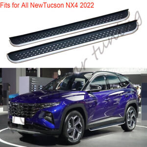 Running Board Fits For Hyundai Tucson NX4 2022 Side Step protect Nerf Bar 2pcs