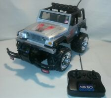 ☆ Nikko R/C Jeep Rubicon TESTED AND WORKING ~ FREE SHIPPING