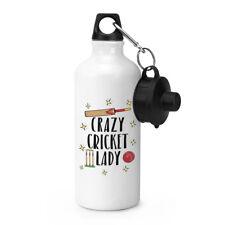 Crazy Cricket Lady Sport Getränkeflasche Zelten Kolben - Lustig
