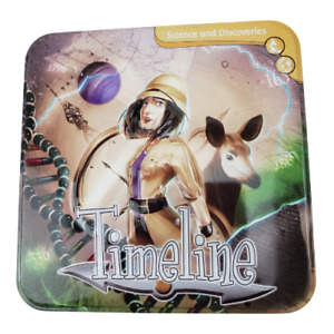 Timeline: Science and Discoveries Card Game Educational by Asmodee Metal Tin