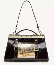 Patricia Nash Tobacco Leather Westminster Abbey Collina Satchel Purse