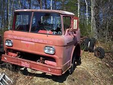 1958 Ford cabover COE fire truck cab & chassis 58 59 60 rat rod tow truck hauler