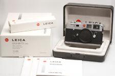 Leica M6 TTL (0.85) silbern verchromt -nahezu neuwertig-