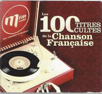 COFFRET 5 CD LES 100 CHANSONS CULTES DE LA CHANSON FRANÇAISE     CO119