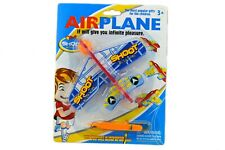 EVA AIRCRAFT SUPER GLIDER party bag filler gift toy launcher plane aircraft sky