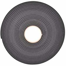 New listing Sponge Neoprene Stripping W/Adhesive 1/2in Wide X 1/4in Thick 37.5ft Long &amp