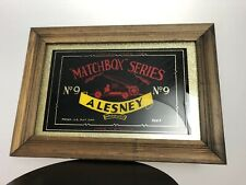 Matchbox Series A Lesney Product No 9 Sign Advertisement Store Sign Vintage