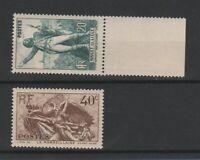 FRANCOBOLLI - 1936 FRANCIA C.20+40 ROUGE MNH E/1517