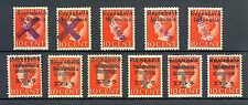 REP INDONESIA INTERIM OVP ON JAPAN OCCUP. 1946 PADANG  11 ST */0   MOST VF
