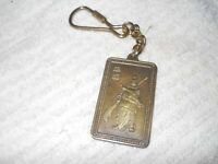 Dr Quando martial arts brass key chain