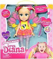 Love Diana Doll Pack - Light up Fairy