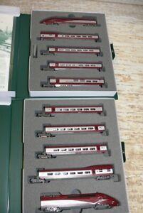 HS  Kato K101658 - Triebzug  TGV Thalys  PBKA 10-tlg Ep.VI Spur N
