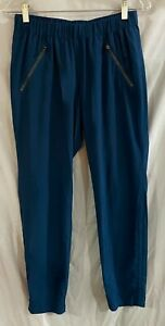 Athleta Aspire Ankle Pant Jogger Teal Size 4 LOOK!!!!!