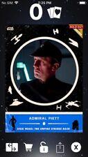 Topps Star Wars Digital Card Trader Blue ESB Retro Rewind Admiral Piett Insert