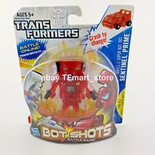 Transformers Bot Shots Super 001 Sentinel Prime Clear Red Transparent Variant