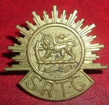CAP BADGES-ORIGINAL 1st EARLY WW2 PATTERN SOUTHERN RHODESIA TRANSPORT CORPS