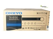 Onkyo TX-8150 Stereo-Netzerk-Receiver, Bluetooth, Airplay(Schwarz)NEU Fachhandel
