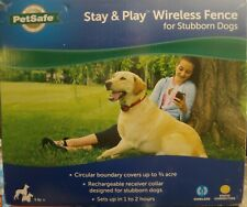 PetSafe Pif00-13663 Stay and Play Wireless Fence for Stubborn Dogs