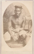 CDV photo of Zulu South Africa C1875